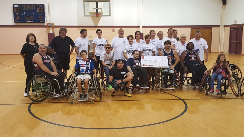 Wheelchair Basketball 2015