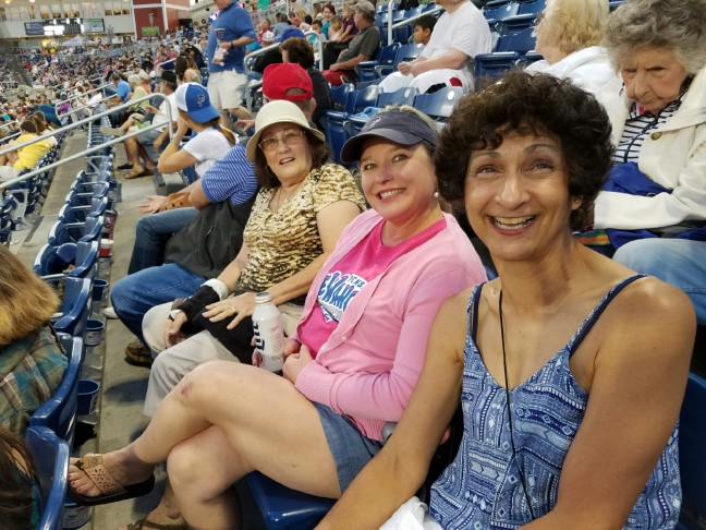 Buona Fortuna outing to the Wahoo's game - May 2016