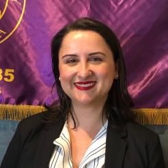 Immediate Past President Brooke Hardy